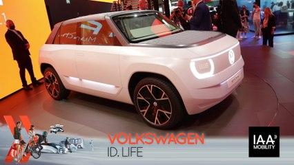 Volkswagen ID. Life (2021) : découvrez-le en direct du salon de Munich !