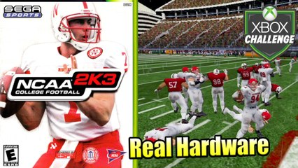 NCAA College Football 2K3 — Xbox OG Gameplay HD — Real Hardware {Component}