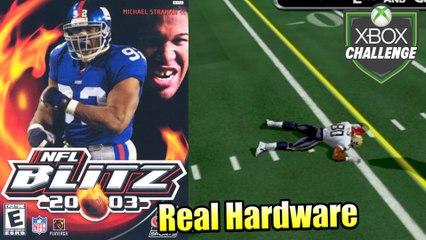 NFL Blitz 2003 — Xbox OG Gameplay HD — Real Hardware {Component}