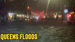 ''Heroic' Bus Driver Effectively Cruises Down Severely Flooded Street in Queens'