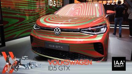 Volkswagen ID.5 GTX (2021) : découvrez-le en direct du salon de Munich !