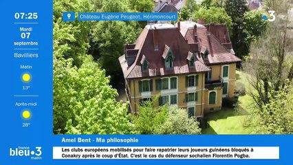 07/09/2021 - Le 6/9 de France Bleu Belfort Montbéliard en vidéo