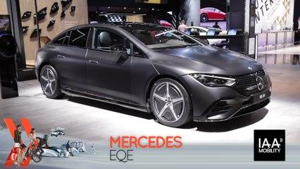 Mercedes EQE (2021) : découvrez-le en direct du salon de Munich !