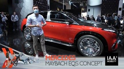 Mercedes EQS Maybach Concept (2021) : découvrez-le en direct du salon de Munich !