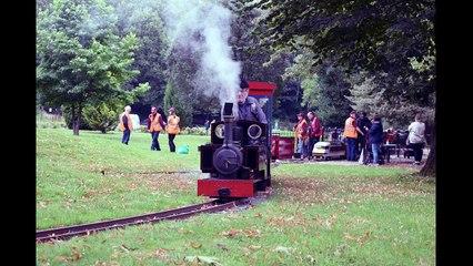 Ride on board Thompson Park miniature railway