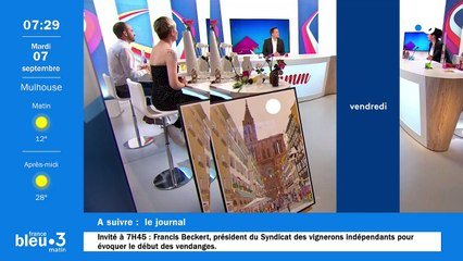 07/09/2021 - Le 6/9 de France Bleu Alsace en vidéo