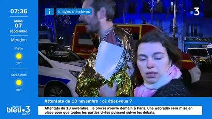 07/09/2021 - Le 6/9 de France Bleu Paris en vidéo
