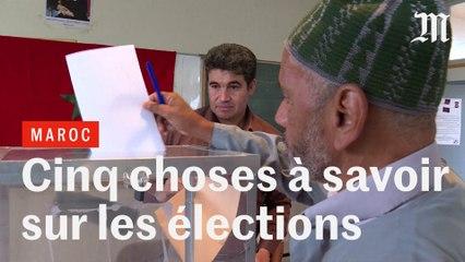 Cinq choses à savoir sur les élections au Maroc