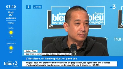 Julien Phor de la Ligue de l'enseignement en Côte-d'or