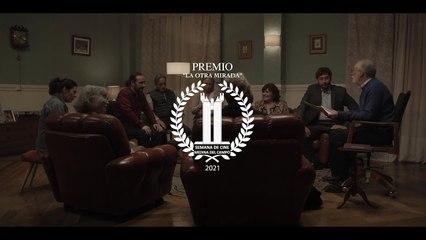 """Tráiler del cortometraje """"Votamos"""", de Santiago Requejo, con Myriam Díaz Aroca, Raúl Fernández de Pablo, Neus Sanz y Charo Reina."""
