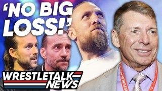WWE On Daniel Bryan AEW Debut! SHOCKING WWE Plans For Adam Cole! WWE Raw | WrestleTalk