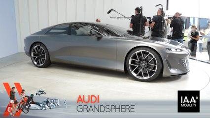 Audi Grandsphere (2021) : découvrez-le en direct du salon de Munich !