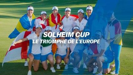 Solheim Cup : le triomphe de l'Europe