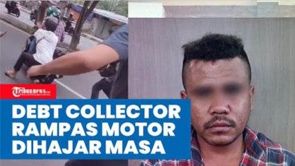 Viral Debt Collector Rampas Motor hingga Pemilik Terseret di Kebon Jeruk, Pelaku Dihajar Massa