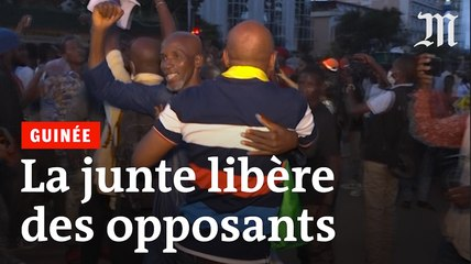 En Guinée, la joie des opposants libérés par les putschistes