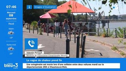 08/09/2021 - Le 6/9 de France Bleu Loire Océan en vidéo