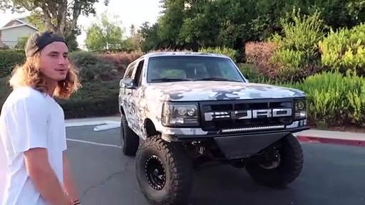 Custom Ford Bronco Prerunner Build