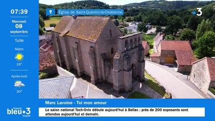08/09/2021 - Le 6/9 de France Bleu Limousin en vidéo