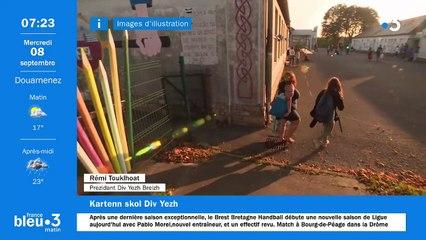 08/09/2021 - Le 6/9 de France Bleu Breizh Izel en vidéo