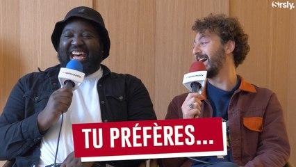 """DJIMO et ROMAN FRAYSSINET jouent à """"Tu préfères..."""""""