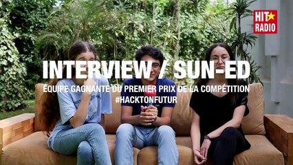 #HACKTONFUTUR - ÉQUIPE GAGNANTE DU 1ER PRIX DE LA COMPÉTITION