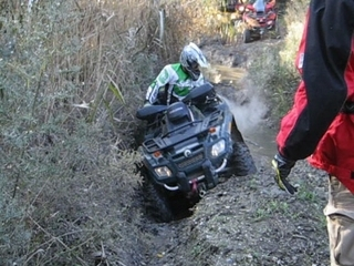 Can-am Outlander in Mud