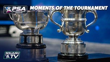 Squash: British Open 2021 - Moments of the Tournament