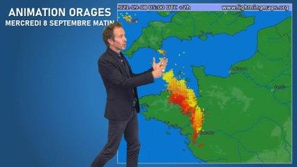 Illustration de l'actualité Bulletin météo pour le jeudi 9 septembre