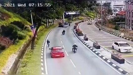 撞脚车骑士后逃离现场  10小时内警确认司机