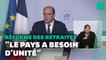 """Pour la réforme des retraites, les conditions """"toujours pas réunies"""" selon Castex"""