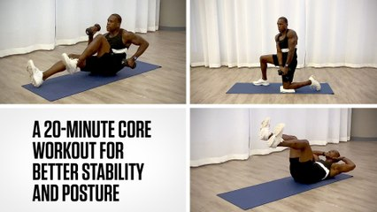 A 20-Minute Core Workout for Better Stability and Posture