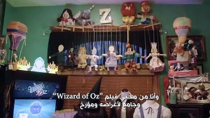 "!""Wizard of Oz"" هذا الرجل لديه أكثر من 10000 عنصر من"