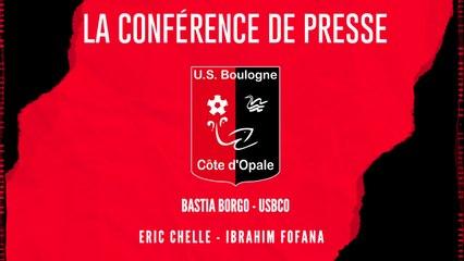 [NATIONAL] J6 Conférence de presse avant match Bastia Borgo - USBCO