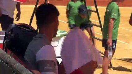 Andújar y Martínez se hacen fuertes en la Copa Sevilla