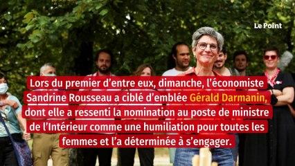 Darmanin « enfreint la loi sur un plateau », dénonce Sandrine Rousseau