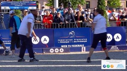 CHAMPIONNAT DE FRANCE DOUBLETTE MIXTE - MONTAUBAN 2021 - 1/4 - CD94 VS CD 82