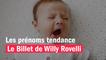 Les prénoms tendance pour 2022 - Le billet de Willy Rovelli