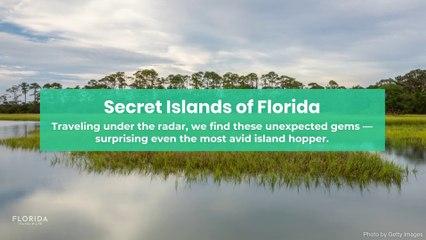 Secret islands of Florida