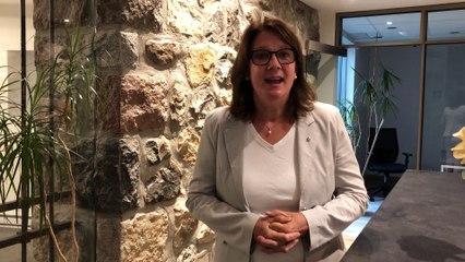 Nathalie Boisclair, candidate du Bloc Québécois dans Longueuil-Charles-LeMoyne
