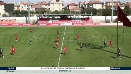 Karaman Belediyespor 2-5 Kahta 02 Spor 08.09.2021 - 2021-2022 Turkish Cup 1st Qualifying Round