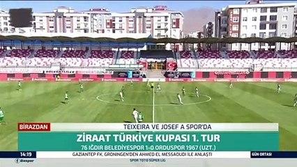 76 Iğdır Belediyespor 1-0 Orduspor 1967 FİSK (After Extra Time) 08.09.2021 - 2021-2022 Turkish Cup 1st Qualifying Round