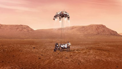 La odisea espacial del Perseverance para encontrar vida en Marte