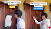 'L.A. Man's Incredibly Funny Impressions of Different Types of Door Knockers'