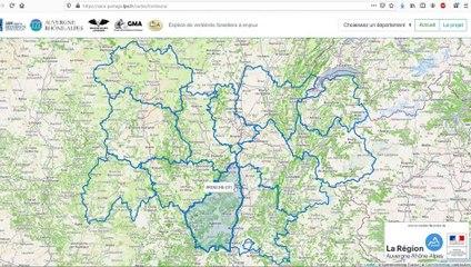 Préserver la faune et la biodiversité en forêt - Tutoriel de l'outil cartographique