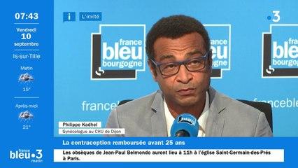 Philippe Kadhel, gynécologue au CHU de Dijon