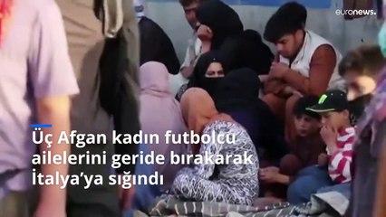 Taliban'dan kaçan Afgan kadınlar, futbol hayallerini İtalya'da sürdürüyor