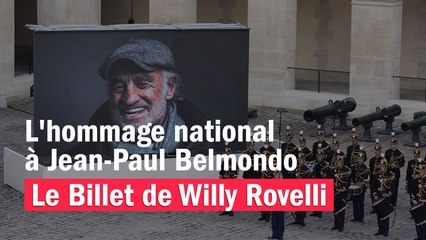 L'hommage national à Jean-Paul Belmondo - Le billet de Willy Rovelli