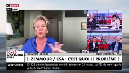L'ex membre du CSA Françoise Laborde s'emporte contre l'institution