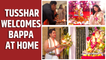 Ganesh Chaturthi: Arpita Khan Sharma and Tusshar Kapoor welcome Ganpati Bappa home