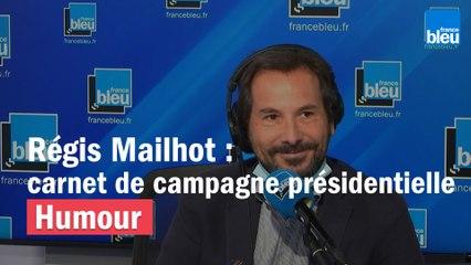 Régis Mailhot : Macron, Hamon, Le Pen dans le carnet de campagne présidentielle !